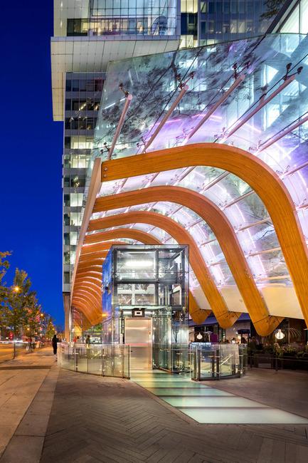 Press kit | 2106-01 - Press release | Henriquez Partners Architects Wins a Prestigious Architizer A+Award - Henriquez Partners Architects - Commercial Architecture - Telus Garden in Vancouver, Canada - Photo credit: Ed White