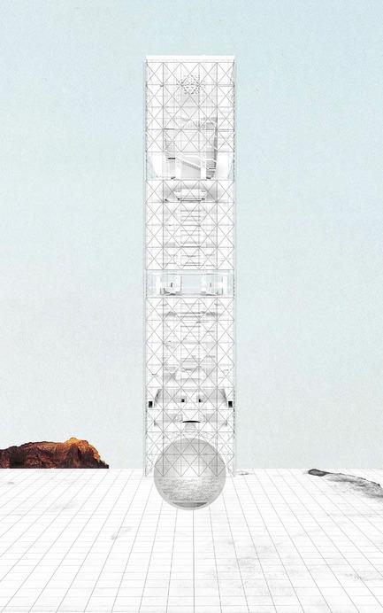 Press kit | 1127-05 - Press release | Winners 2016 Skyscraper Competition - eVolo Magazine - Competition - Agora: Vertical Streetscape - Photo credit: Alessandro Arcangeli, Filippo Fiorani
