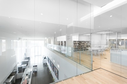 Press kit | 721-06 - Press release | Saul-Bellow Library - Chevalier Morales Architectes - Institutional Architecture -  Saul-Bellow Library,Montreal, Canada  - Photo credit:  Chevalier Morales Architectes