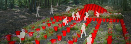 Press kit | 837-04 - Press release | The International Garden Festival announces the designers for its 15th edition - International Garden Festival / Reford Gardens - Event + Exhibition -  Cone Garden Bocksili, Livescape, Corée du Sud - South Korea
