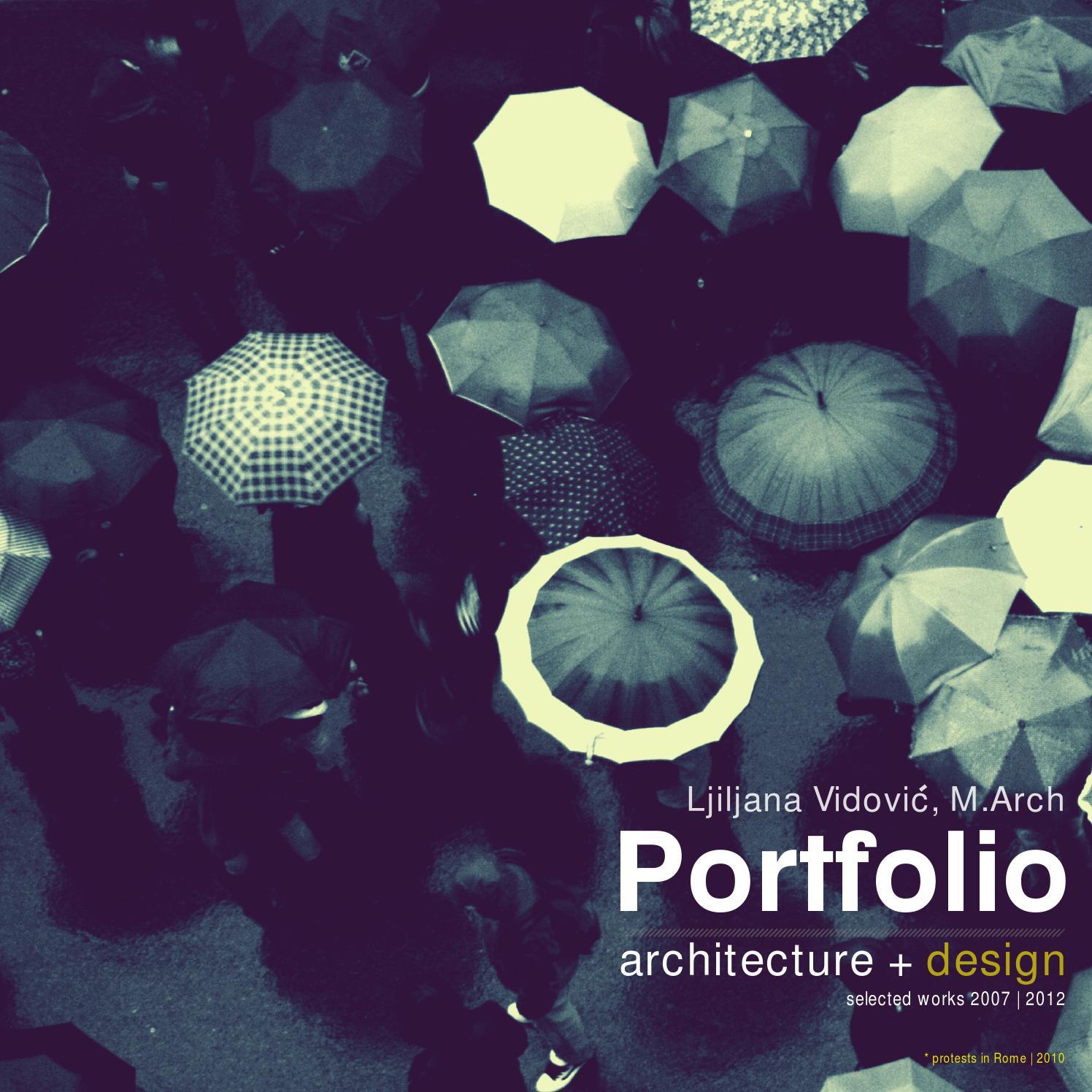 Ljiljana Vidovic Portfolio M.Arch