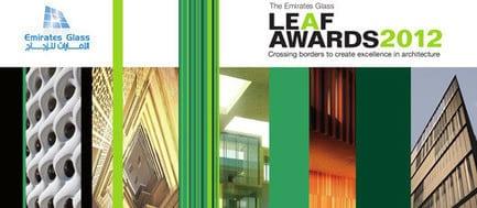 Press kit - Press release - 2012 Shortlist Revealed! - The Emirates Glass LEAF Awards