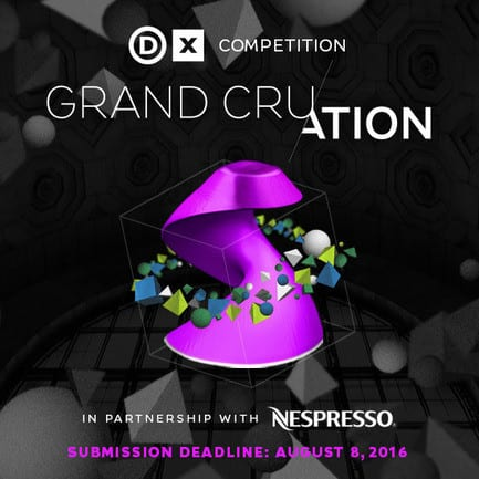 Press kit - Press release - Call for Submissions: Grand Cru/ation   A Design Exchange Competition in Partnership with Nespresso - Design Exchange, Canada's Design Museum