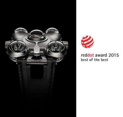 """Press kit - Press release - HM6 'Space Pirate' wins the Red Dot: """"Best of the Best"""" prize - MB&F"""