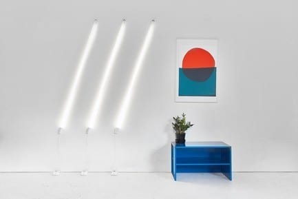 Press kit - Press release - Induction Wall Light - Castor Design