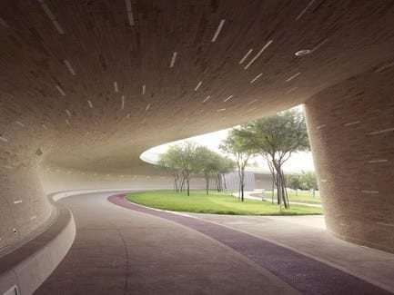 Press kit - Press release - Oxygen Park, Education City, Doha - Qatar Foundation, AECOM