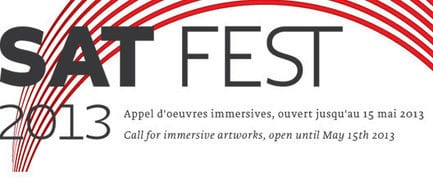 Press kit - Press release - Submit your artwork for the new edition of SAT Fest! - Society for Arts and Technology (SAT)