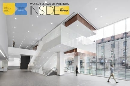 Press kit - Press release - The New CHUM by CannonDesign + NEUF architect(e)s Wins an INSIDE 2017 Award at The World Architecture Festival in Berlin - CannonDesign + NEUF architect(e)s