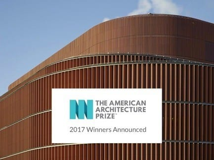 Press kit - Press release - Winners of the 2017 American Architecture Prize Announced - AAP - The American Architecture Prize