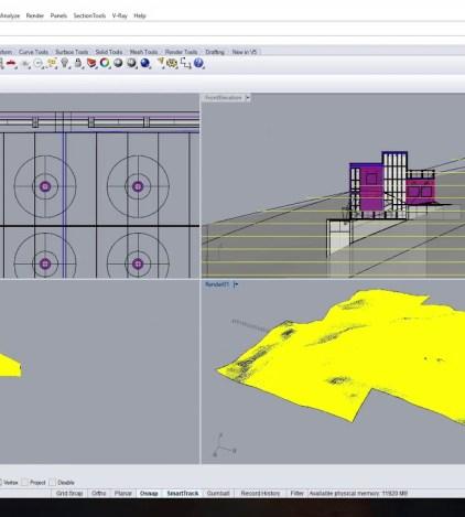 Rhino Tutorial 5 of 5: Axonometric Line Drawing with Make2D