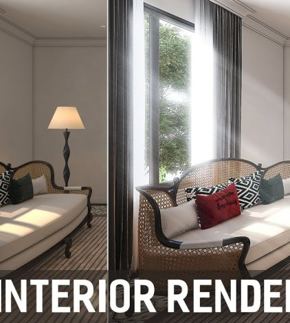 Architecture Plan Rendering - Photoshop Architecture