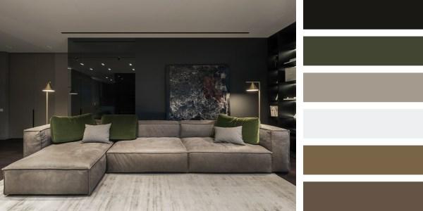 Family Apartment in Kiev – Living Room