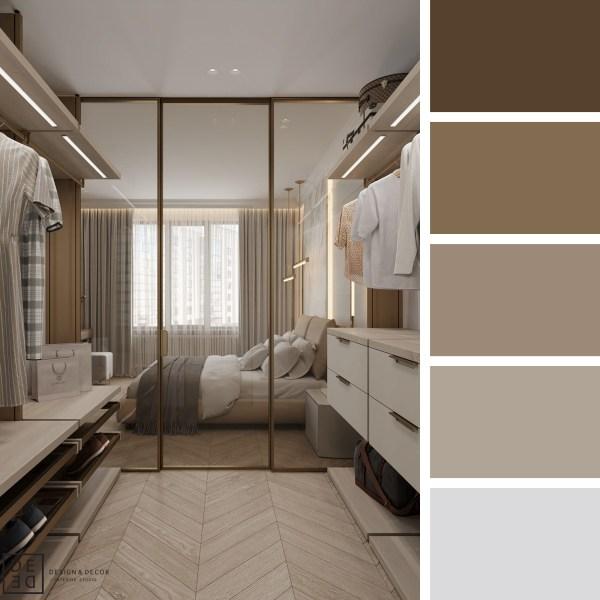 DE&DE Neutrals with golden touch – Closet