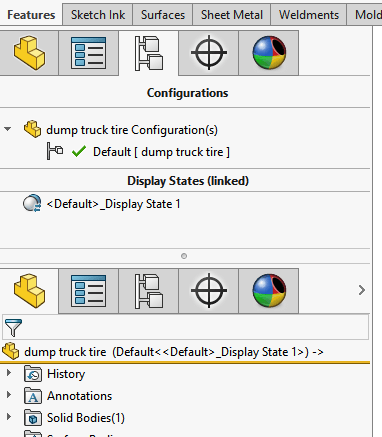 SolidWorks FeatureManager Management |