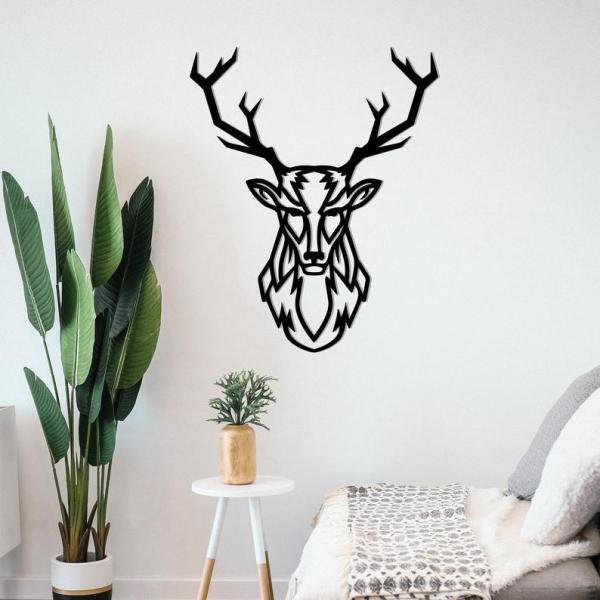 Deer Wall Art, Metal Wall Decor, Metal Wall Art