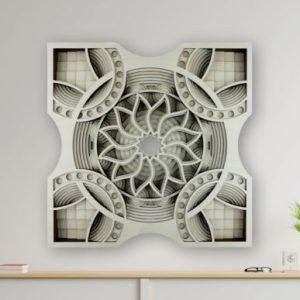 Laser Cut Multilayer Mandala Layout Cut Files