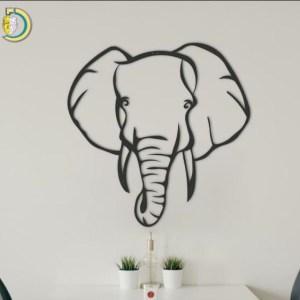 Elephant Metal Decor