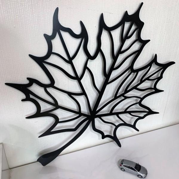 Autumn Leaf Metal Wall Art, Metal Wall Sign