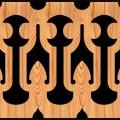 Decorative Baluster Railing 08 Pattern PDF File