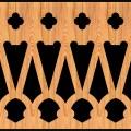Decorative Baluster Railing 15 Pattern PDF File