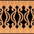 Decorative Baluster Railing 32 Pattern PDF File