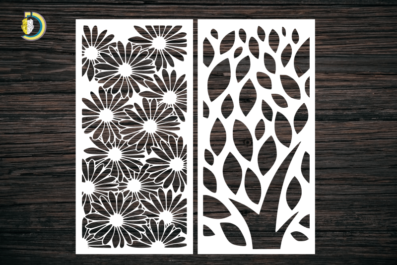 Decorative Screen Panel 13 CDR DXF Laser Cut Free Vector