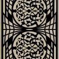 Decorative Slotted Panel 139 Pattern PDF File
