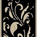Decorative Slotted Panel 167 Pattern PDF File