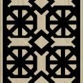 Decorative Slotted Panel 236 Pattern PDF File