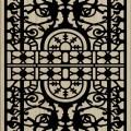 Decorative Slotted Panel 449 Pattern PDF File