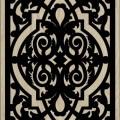 Decorative Slotted Panel 458 Pattern PDF File
