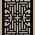 Decorative Slotted Panel 464 Pattern PDF File