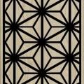 Decorative Slotted Panel 485 Pattern PDF File