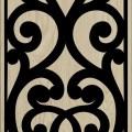 Decorative Slotted Panel 498 Pattern PDF File