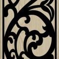 Decorative Slotted Panel 64 Pattern PDF File