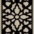 Decorative Slotted Panel 72 Pattern PDF File