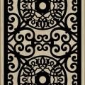 Decorative Slotted Panel 06 Pattern PDF File