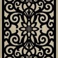 Decorative Slotted Panel 08 Pattern PDF File