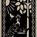 Decorative Slotted Panel 14 Pattern PDF File