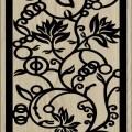 Decorative Slotted Panel 17 Pattern PDF File