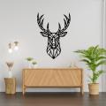 Deer Head Home Wall Decor Geometric Deer Head Wall Art