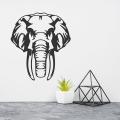 Elephant Metal Art, Metal Wall Decor, Metal Elephant Decor