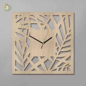 Laser Cut Palermo Clock Wooden Wall Clock Vector