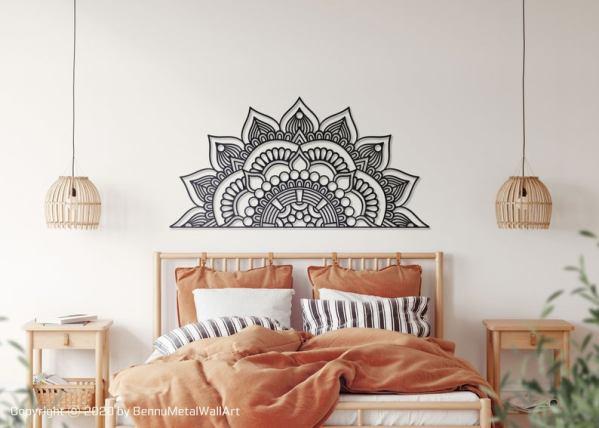Mandala Wall Art, Mandala Wall Decor, Metal Mandala Decor