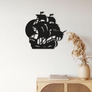 Ship Metal Wall Art, Ship Metal Wall Decor, Yacht Decor