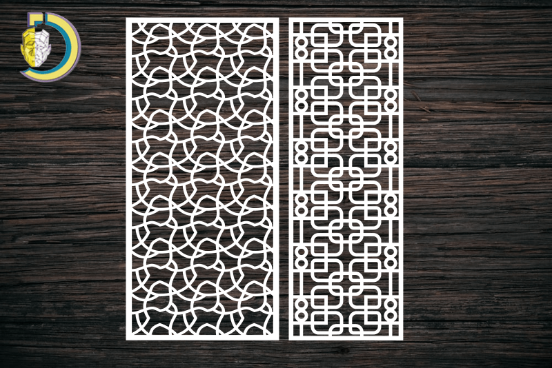 Decorative Screen Panel 108 CDR DXF Laser Cut Free Vector