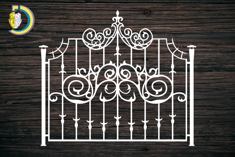 Decorative Screen Panel 117 CDR DXF Laser Cut Free Vector