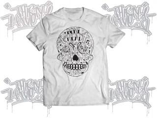 bonehead t-shirt mockup