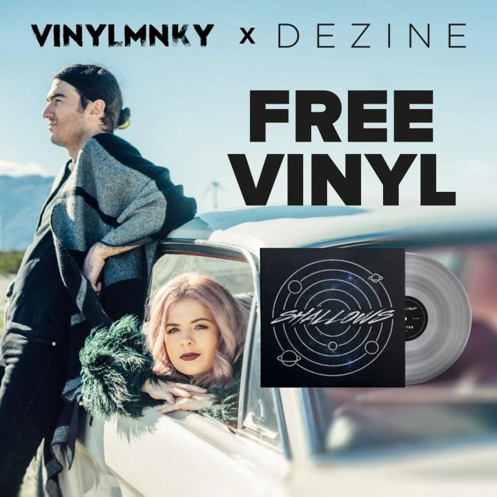 Vinylmnky x DEZINE FREE Vinyl giveaway