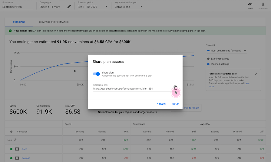 Performance-planner-new-features